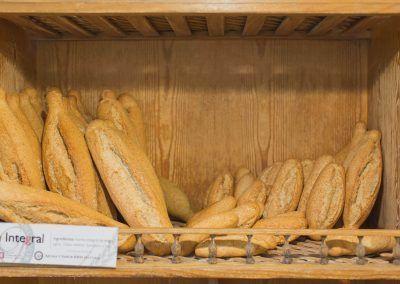 Pan integral  Panadería La Gracia de Dios