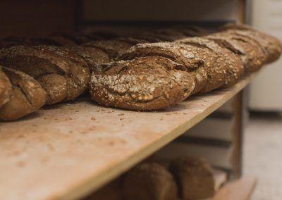 Pan alemán Panadería La Gracia de Dios