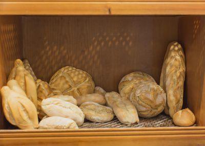 Panes en Panadería La Gracia de Dios