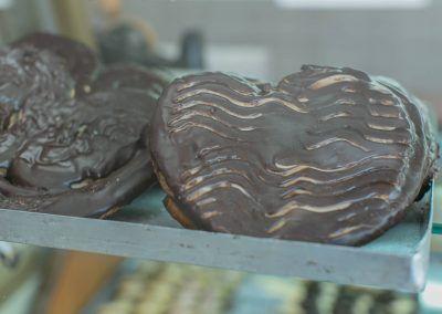 Palmeras de chocolate en La Gracia de Dios
