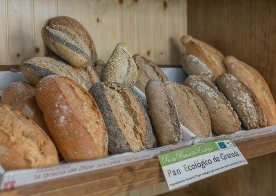 Pan multicereal, de centeno, alemán... Panadería La Gracia de Dios