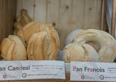 Pan candeal y francés Panadería La Gracia de Dios