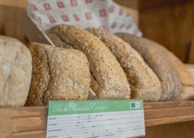Pan ecológico Panadería La Gracia de Dios