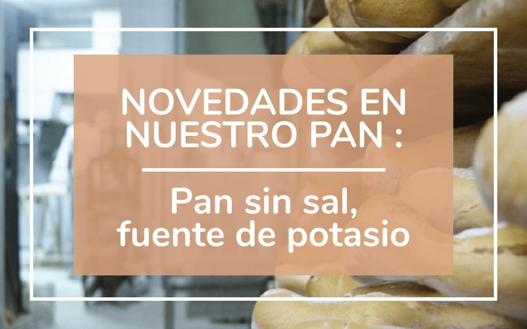 Panes saludables: Pan sin sal fuente de potasio